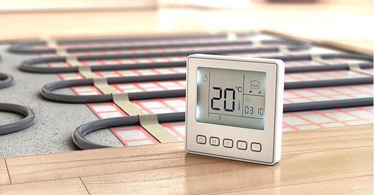 θερμόμετρο που δείχνει 20 βαθμους